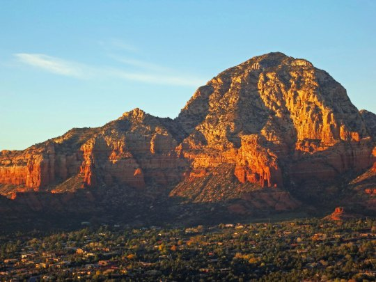 Sunrise west of Sedona