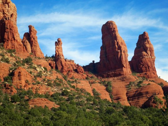 Twin rocks in Sedona