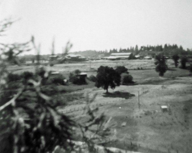 View of Caldor Lumber company circa 1958