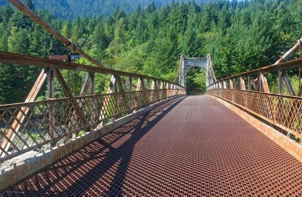 Alexandra Suspension Bridge, BC