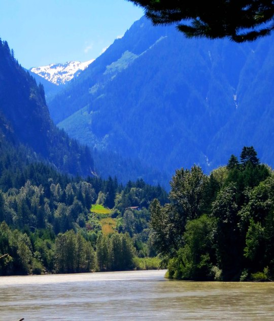 Fraser River at Hope, BC