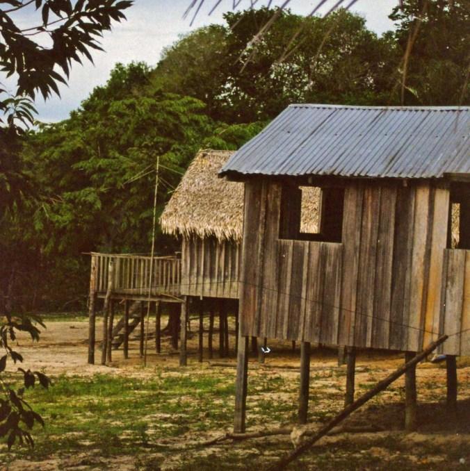 Homes along Amazon