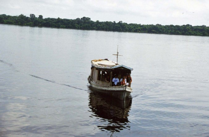 House boat on Amazon