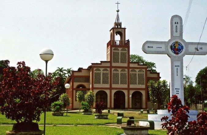 Igreja Santo Angelo - Novo Airao, Amazonas Brazil