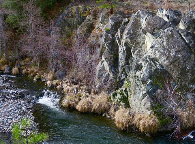 Applegate River in February