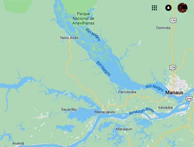 Manaus and Rio Negro River