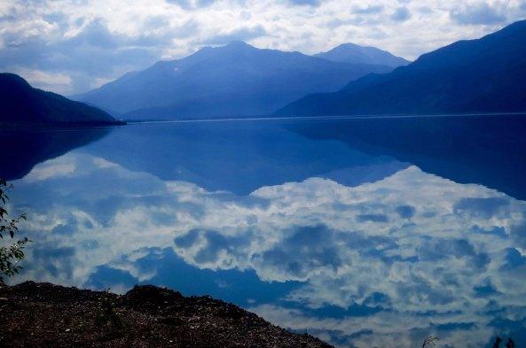 Muncho Lake in British Columbia