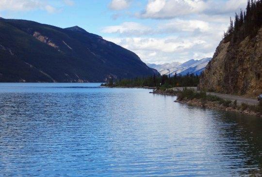 Muncho Lake north