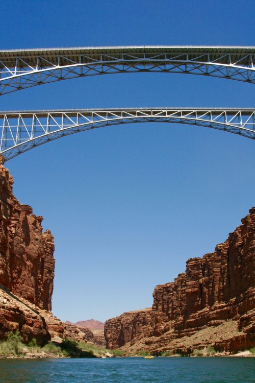 Navajo Bridge by Don Green
