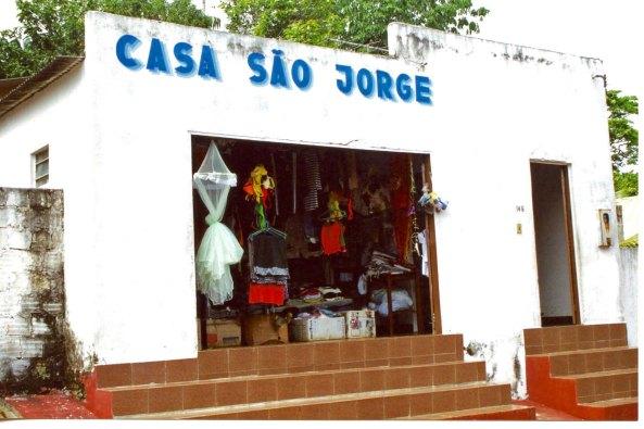 Open market in Nova, Airao, Brazil