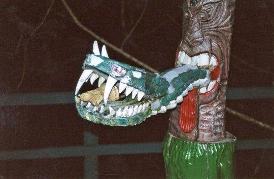 Snake tongue and Bone