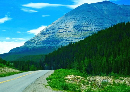Stone Mountain on Alaska Highway
