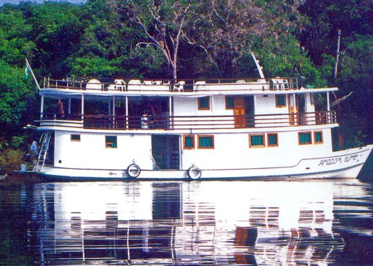 The Amazon Clipper river boat
