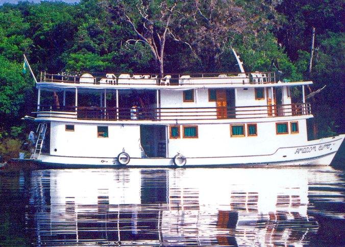 The Amazon Clipper river boat