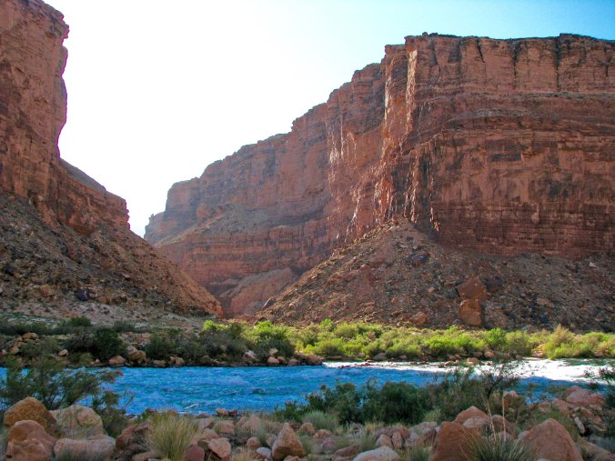 View from Jackass camp on Colorado River by Don Green