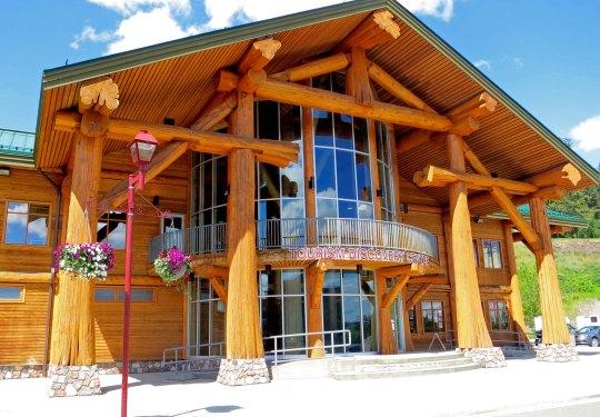 William's Lake Visitor's Center, BC