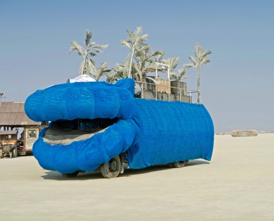 Hippo mutant vehicle aT Burning Man.