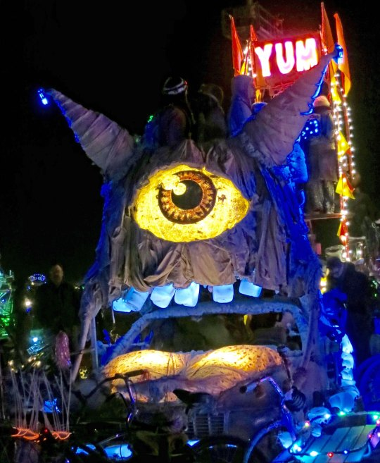 Wild thing mutant vehicle at Burning Man.